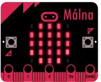 Málna csomag logója